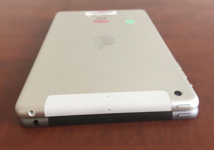 cạnh dưới iPad Mini 2