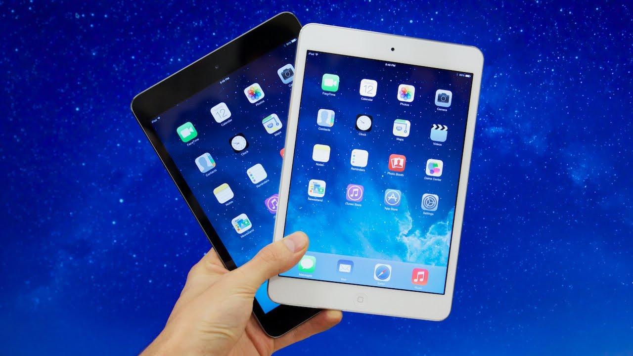 phân biệt các dòng iPad nhanh