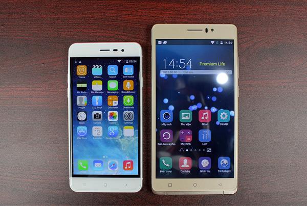 smartphone 5 inch HD cấu hình