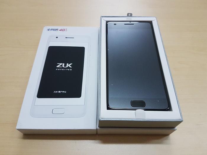 Đập hộp Lenovo ZUK Z2 thiết kế