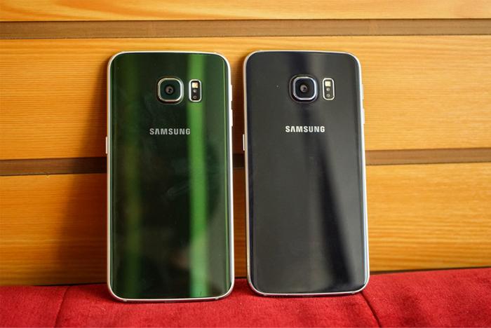 Samsung Galaxy S6 Edge xanh ngọc lục bảo 2