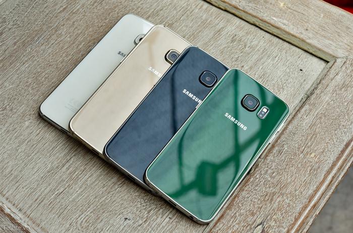 Samsung Galaxy S6 Edge xanh ngọc lục bảo 3