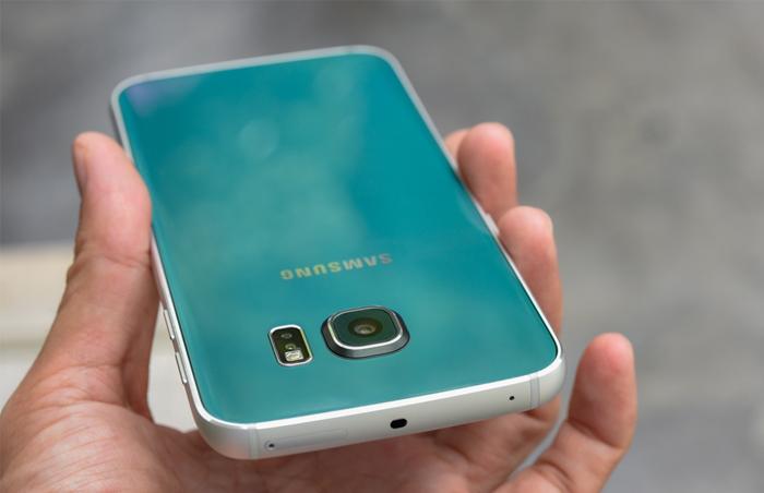 Samsung Galaxy S6 Edge xanh ngọc lục bảo 4