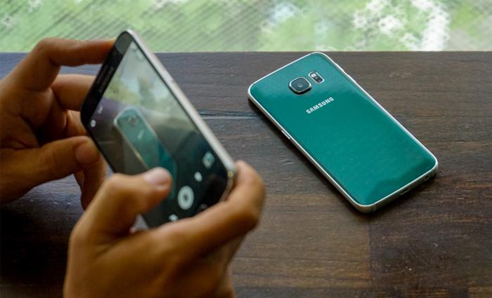 Samsung Galaxy S6 Edge xanh ngọc lục bảo