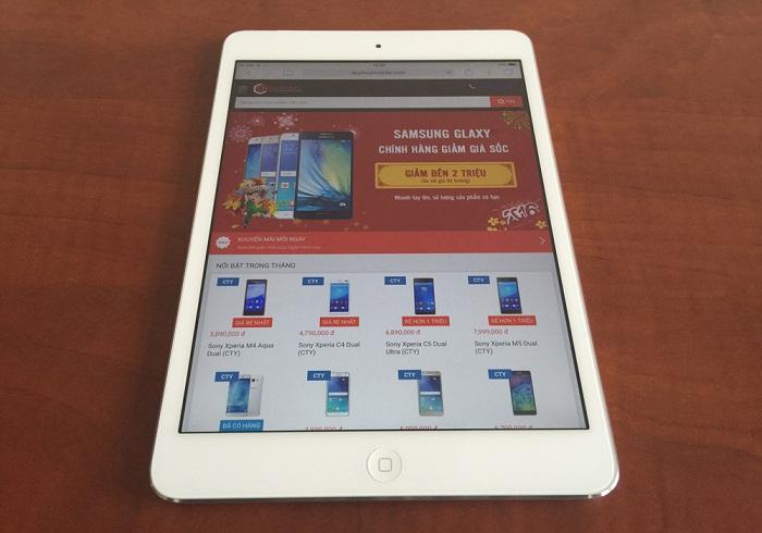 iPad giảm giá sâu