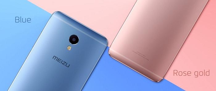 Màu sắc của Meizu M3E