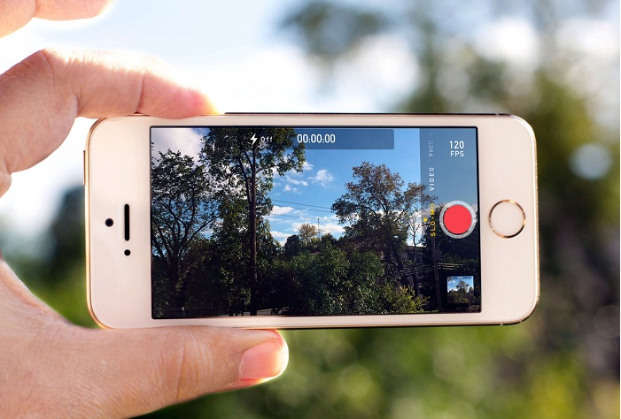 Camera iPhone 5S Lock cũ