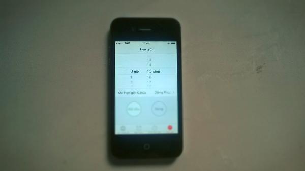 hẹn lịch tắt nhạc trên thiết bị di động 5