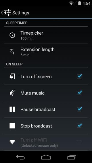 hẹn lịch tắt nhạc trên thiết bị di động 8