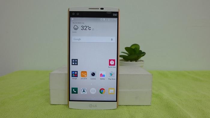LG V10 thiết kế