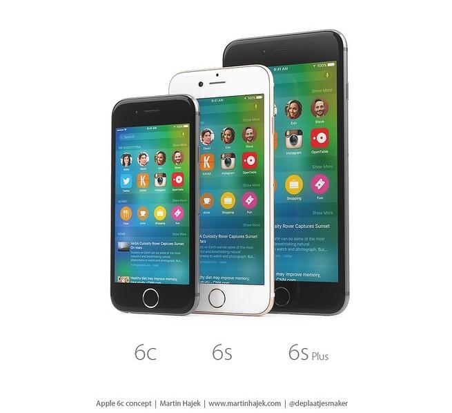 Chân dung mẫu iPhone 6C màn hình 4 inch tuyệt đẹp