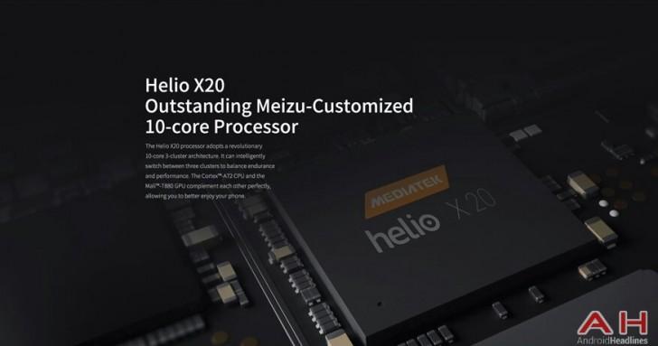 Cấu hình Meizu MX6