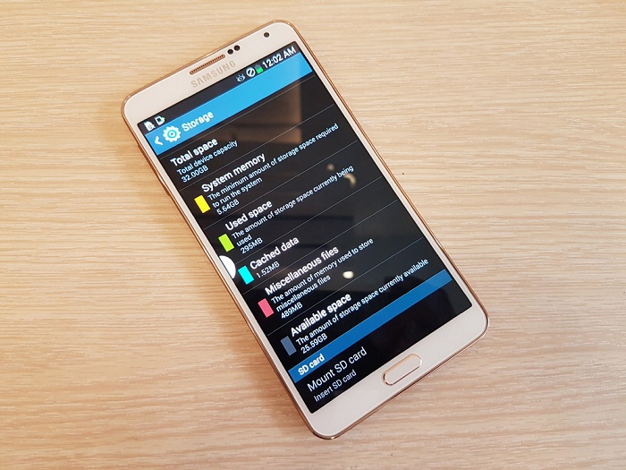Cấu hình Samsung Galaxy Note 3