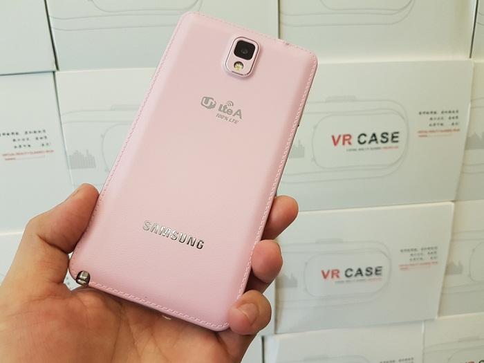 Samsung Galaxy Note 3 màu hồng