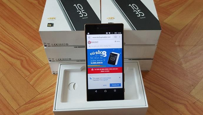 Bộ 3 smartphone Sony Xperia chính hãng, giá giảm 5 triệu hút khách