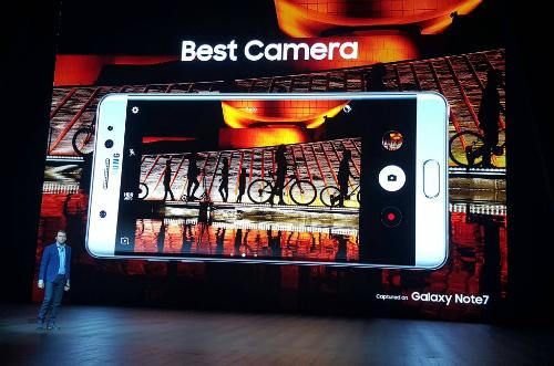 Camera Samsung Galaxy Note 7