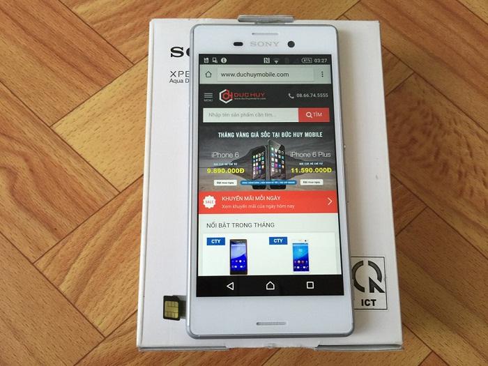 Màn hình Sony Xperia M4 Aqua Dual