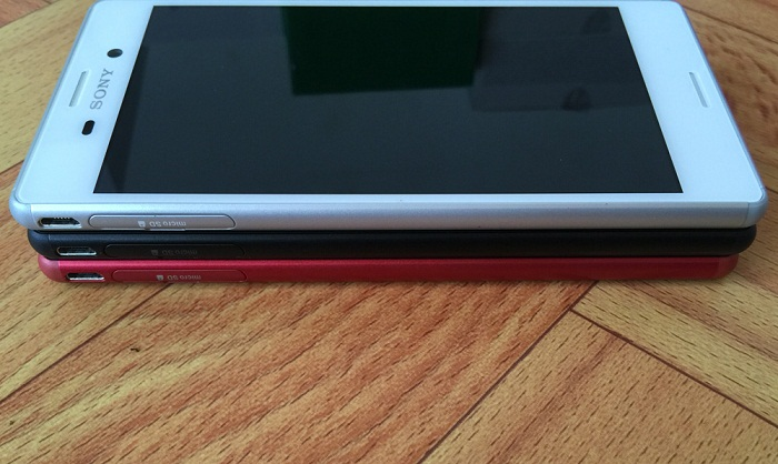 Cạnh trái Sony Xperia M4 Aqua Dual