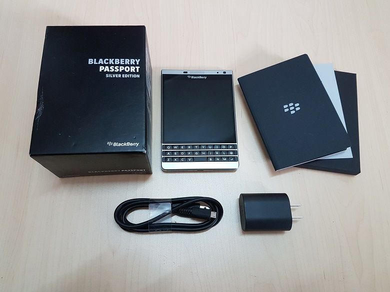 Blackberry Passport Sliver