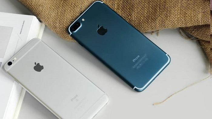 Xem ngoại hình máy, kiểm tra các phím cứng iPhone 7 Lock