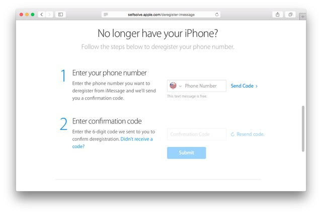 Hủy đăng ký iMessage khi không lắp sim trên iPhone
