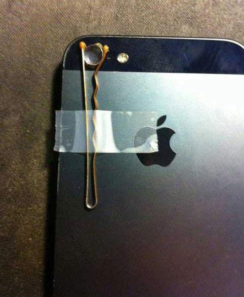 Mẹo làm ống kính macro cho iPhone: Bước 5
