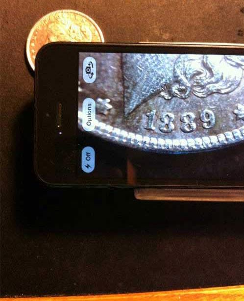 Mẹo làm ống kính macro cho iPhone: Bước 6