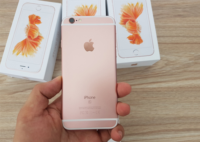 iPhone 6 và iPhone 6S hồng