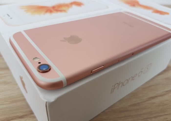 Cạnh trái iPhone 6 và iPhone 6S