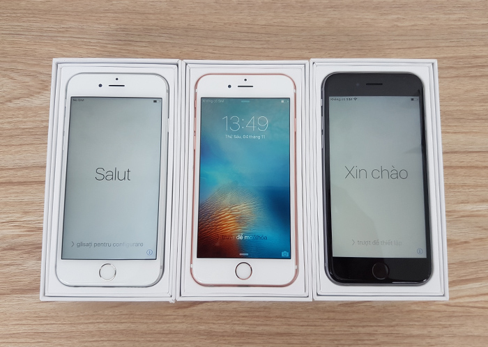 iPhone 6 và iPhone 6S
