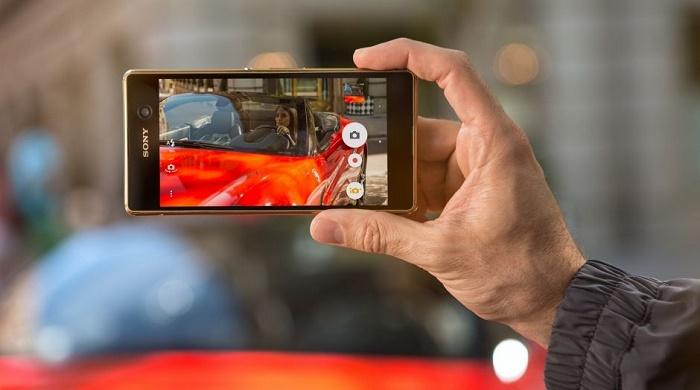 Giao diện Sony Xperia M5 chính hãng