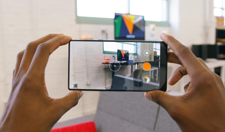 Giao diện camera Xiaomi Mi Mix