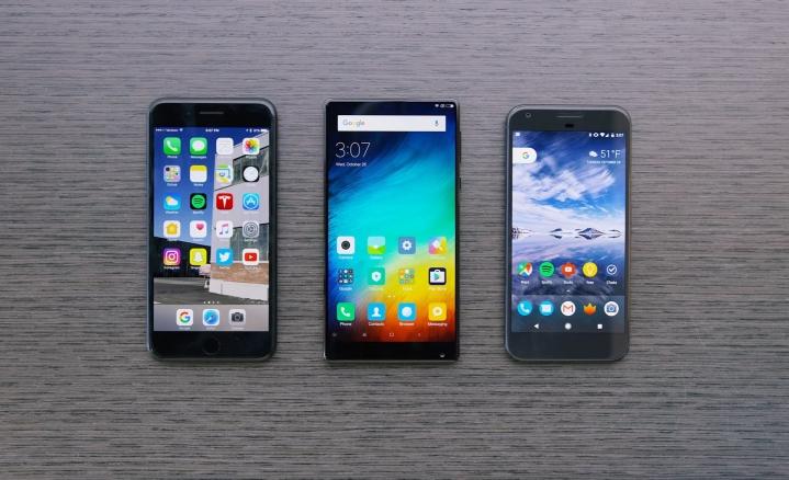 So sánh Xiaomi Mi Mix
