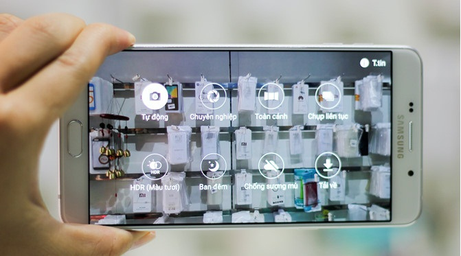 Video Samsung Galaxy A9 Pro