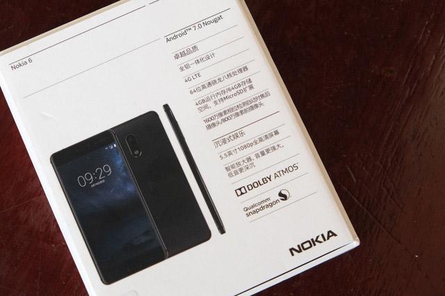 Đập hộp Nokia 6 giá 5.5 triệu - 164143