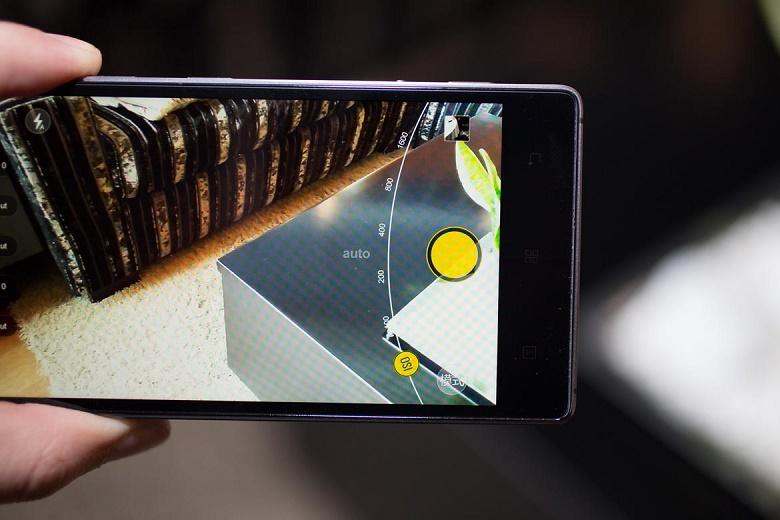 Lenovo Vibe Shot hiệu năng