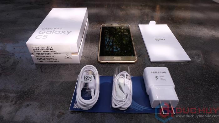 Samsung Galaxy C5 được bán ra trong tình trạng full-box tại Duchuymobile.com