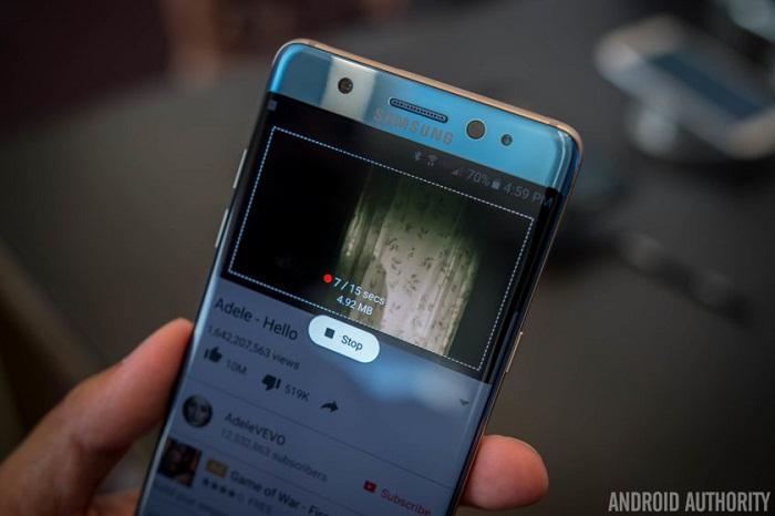màn hình Samsung Galaxy Note 7