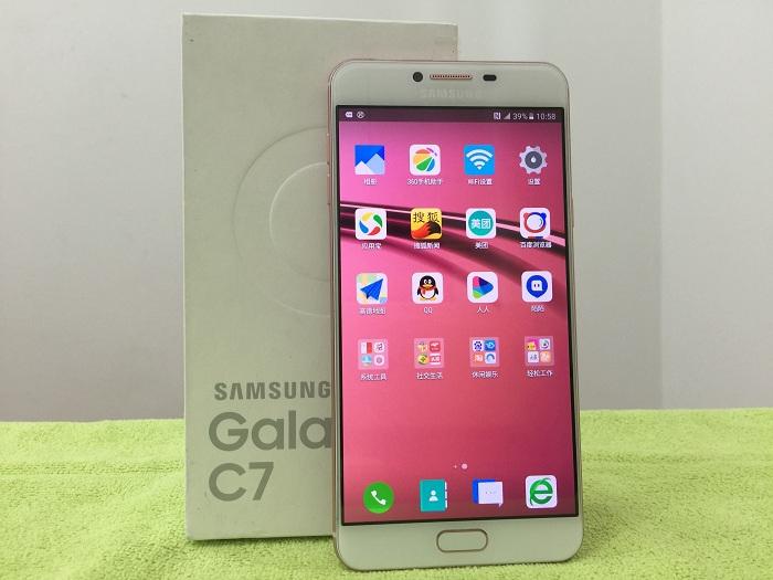 Đập hộp Samsung Galaxy C7 ram