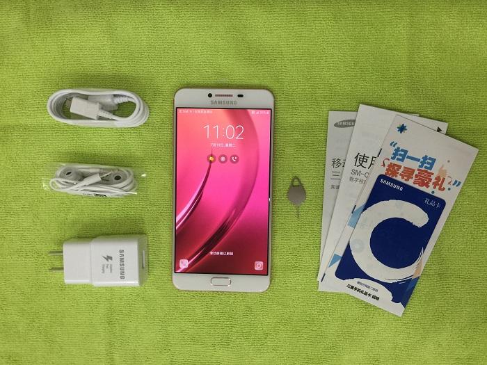 Đập hộp Samsung Galaxy C7 chip