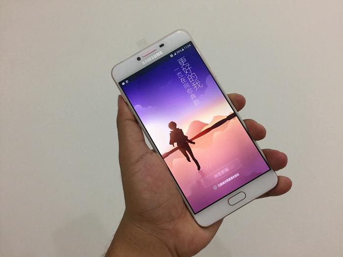 Đập hộp Samsung Galaxy C7 giá bán