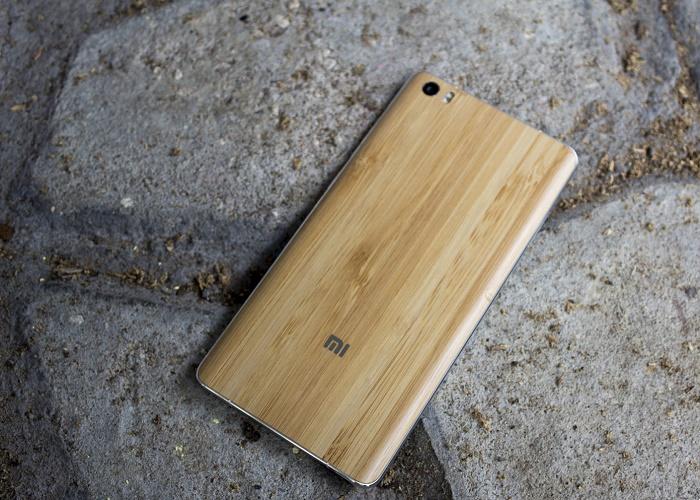 Xiaomi Mi Note phiên bản vỏ tre