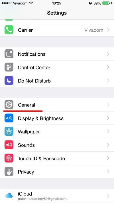 Tính năng Grayscale trên iOS 8 2