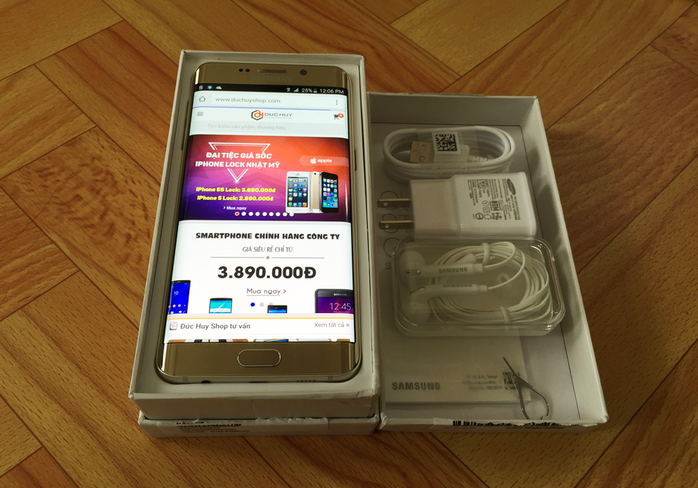 Samsung Galaxy S6 Edge Plus cũ