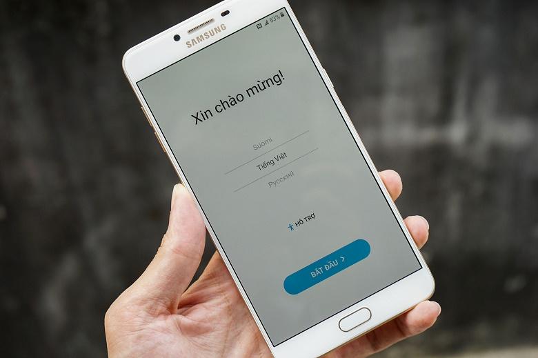 Ngôn ngữ Samsung Galaxy C9 Pro