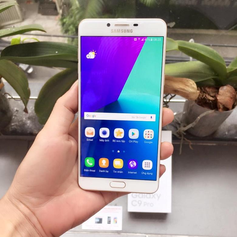Mua Samsung Galaxy C9 Pro có đầy đủ CH Play, tiếng Việt - 162537