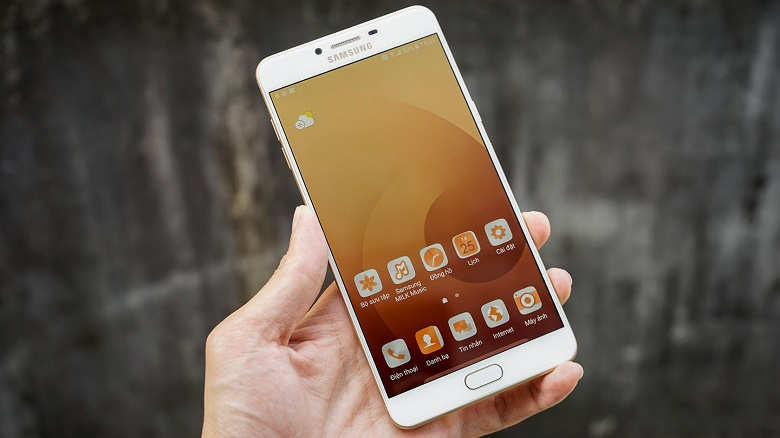 Mua Samsung Galaxy C9 Pro có đầy đủ CH Play, tiếng Việt - 162539