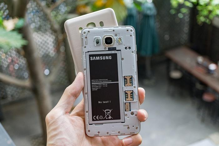 Thiết kế Samsung Galaxy J7 2016