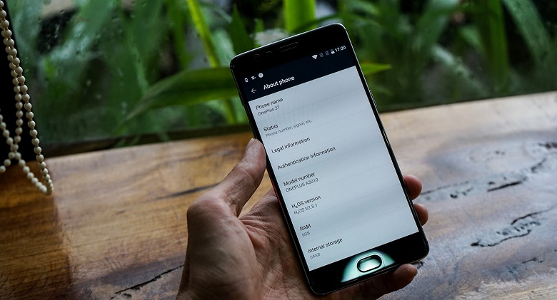 Thông tin OnePlus 3T
