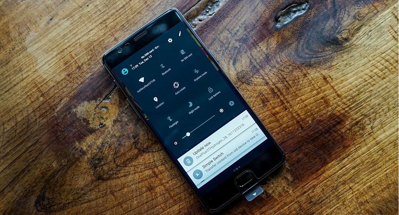 Bảng điều khiển OnePlus 3T